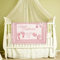 Personalized Birth Certificate Baby Blanket