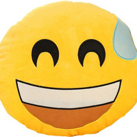 Emoji No Sweat Pillow