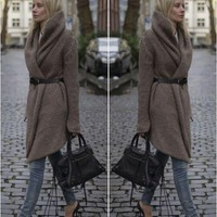FASHION SWEATER COAT