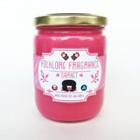 Garnet - Steven Universe Inspired Scented Soy Candle (Pomegranate Iris)