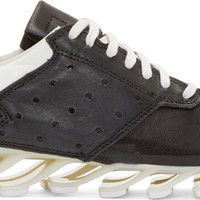 Black & White adidas by Rick Owens Springblade Sneakers