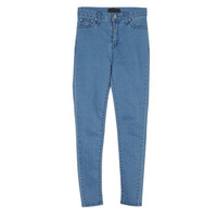 Simple Colored High Rise Skinny Jeans by Stylenanda