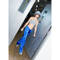 Blue Crush Velvet Pants