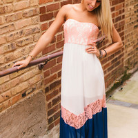 Lady in Lace Maxi Dress - Piace Boutique