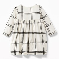 Patterned Jersey Babydoll Dress for Baby   Old Navy
