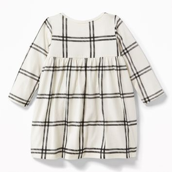 Patterned Jersey Babydoll Dress for Baby | Old Navy