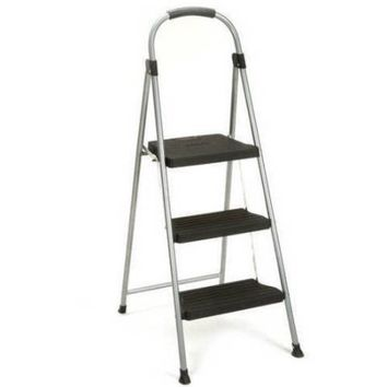 Cosco 3-Step Steel and Resin Folding Step Stool - Walmart.com