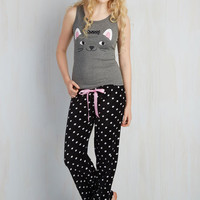 Cats In Purr the Night Pajamas