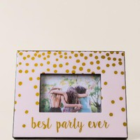 Best party ever picture frame