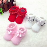 Baby Shoes 1 Pair Cute Toddler 0-6 Months