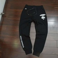 AAPE By A Bathing Ape Joggers With Logo Thickening I-MMYC-XBW