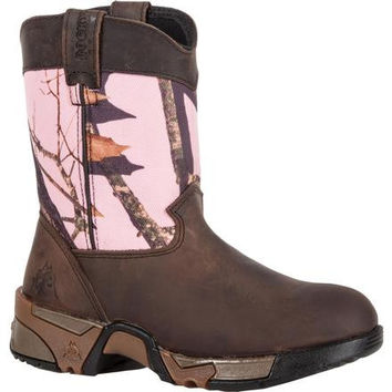 ROCKY KID'S AZTEC PULL-ON WELLINGTON BOOT
