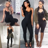 Strap Women Sexy Rompers Corset V Neck Club Skinny Women Basic Jumpsuits Women Bodysuits
