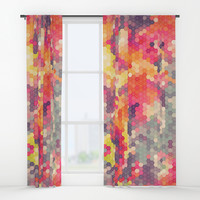 Summer Garden 4 Window Curtains by Fimbis