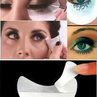 20pcs/set Eye Shadow Eyeliner Mascara Eyelash Painting Auxiliary Cleaning Tool Makeup Prevent Stickers 20pcs/set [9005549060]