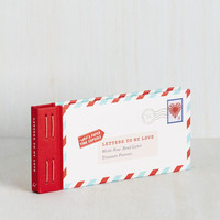 Letters to My Love by Chronicle Books from ModCloth