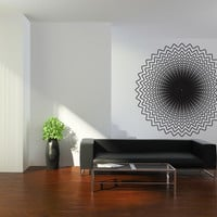 Vinyl Wall Decal Sticker Optical Illusion Circle #OS_DC770