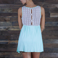 Laced Up From the Waist Up Dress