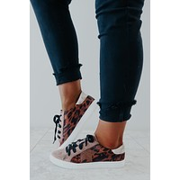 See You At The Rock Show Sneakers: Cheetah/Multi