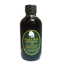 Tia Naturals Black Seed Castor Oil with Hemp Seed Oil 4Oz