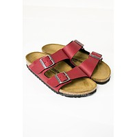 Arizona Red Birkenstocks