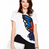 Kate Spade Butterfly Tee Fresh White