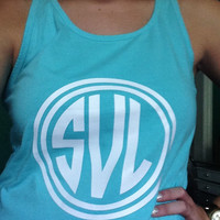 8 Inch Iron On Monogram for Shirts and Pillows