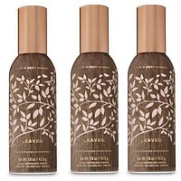 Bath and Body Works 3 Pack Leaves Room Spray 1.5 Oz.