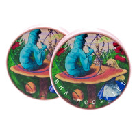 Alice In Wonderland Smoking Caterpillar XL (38mm)