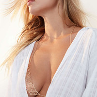 8 Other Reasons Mayfair Bralette Body Chain | Urban Outfitters