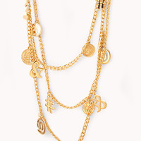 Total Character Layered Necklace