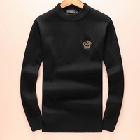 Boys & Men Versace Fashion Casual Top Sweater Pullover Knitwear