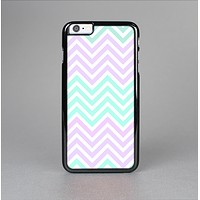 The Light Teal & Purple Sharp Chevron Skin-Sert for the Apple iPhone 6 Skin-Sert Case