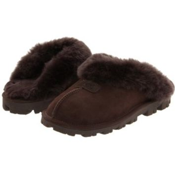 UGG Coquette (Chocolate) Women's Slippers