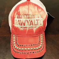 Rawyalty Legendary Crystal Stone Hat Tie Dye Red