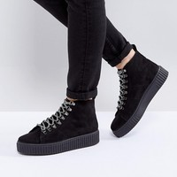 ASOS ABSTRACT Hiker Ankle Boots at asos.com