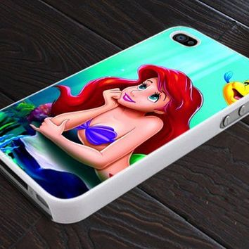 Ariel The Little Mermaid Disney - Print On Hard Cover For iPhone 5