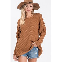 Model For Me Sweater - Brown