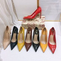 Dior patent leather pump 90MM / 3.54 IN.