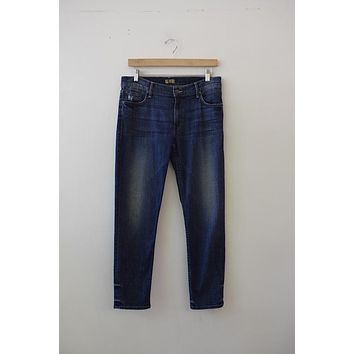 "MOTHER Denim ""The Drop Out"" Medium Wash Skinnies"