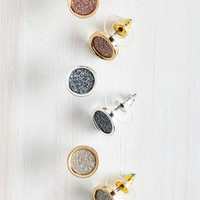 Lobe and Behold Earring Set by ModCloth