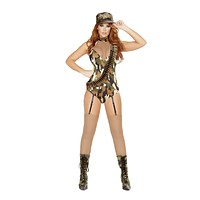 Roma Costume 4687 - 3Pc Sexy Sargent