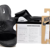 Nike Air Lebron Slide Black Casual Sandals Slipper Shoes Size Us 7 11 | Best Deal Online