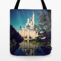 The Disney Castle Tote Bag by Janice