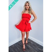 Get The Look Dress: Red