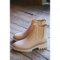 Preston Perforated Booties, Natural | Coconuts by Matisse