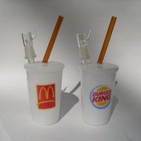 Fast Food Cup Oil Rig