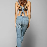 BDG Button-Down Slim Fit Denim Overall - Urban Outfitters