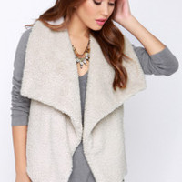 BB Dakota Darby Light Beige Vest