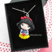 snow white necklace Disney princess inspired